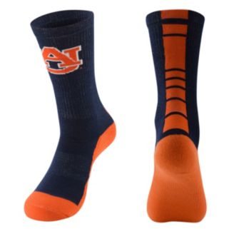 Men's Mojo Auburn Tigers Champ 1/2-Cushion Performance Crew Socks