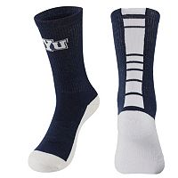 Men's Mojo BYU Cougars Champ 1/2-Cushion Performance Crew Socks