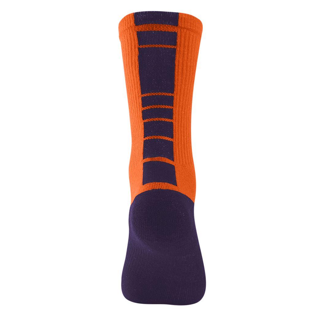 Men's Mojo Clemson Tigers Champ 1/2-Cushion Performance Crew Socks