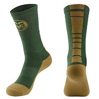 Men's Mojo Colorado State Rams Champ 1/2-Cushion Performance Crew Socks