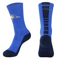 Men's Mojo Creighton Bluejays Champ 1/2-Cushion Performance Crew Socks