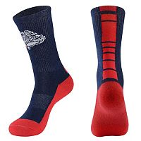 Men's Mojo Gonzaga Bulldogs Champ 1/2-Cushion Performance Crew Socks