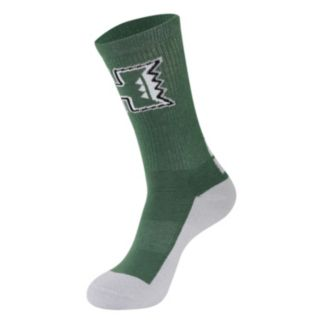 Men's Mojo Hawaii Warriors Champ 1/2-Cushion Performance Crew Socks