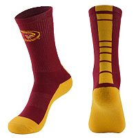 Men's Mojo Iowa State Cyclones Champ 1/2-Cushion Performance Crew Socks