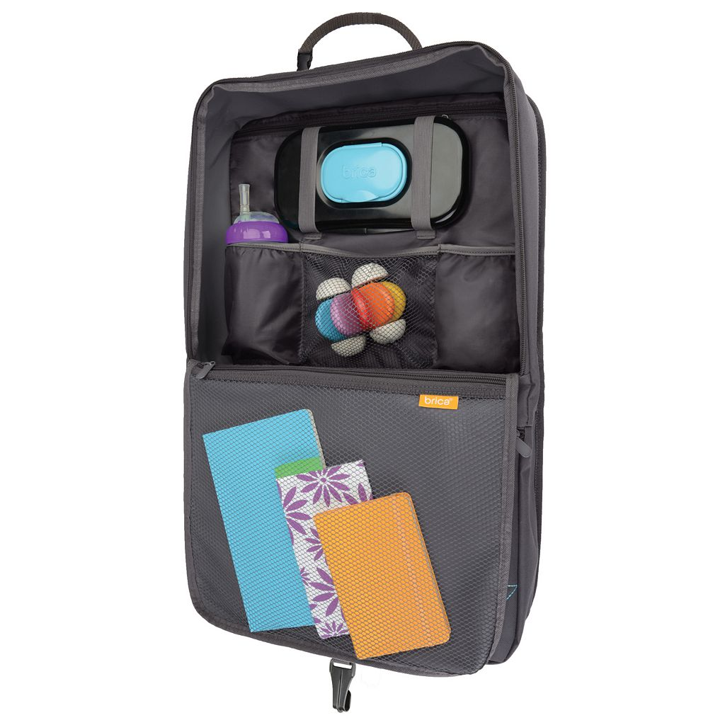 Brica i-Hide Seat Back Organizer and Tablet Viewer