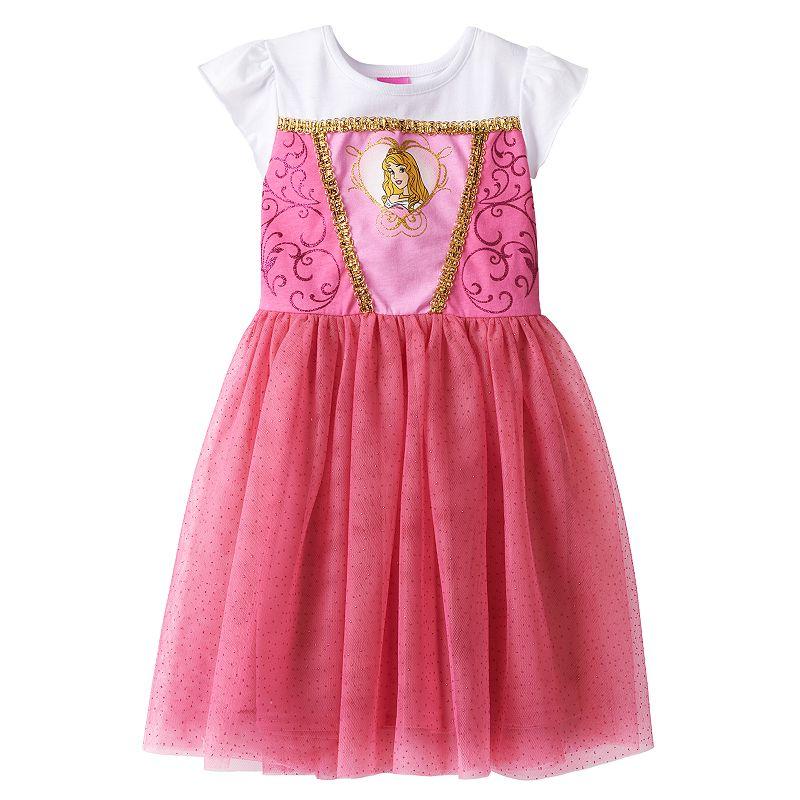 Disney Princess Aurora Dress - Girls 4-6x