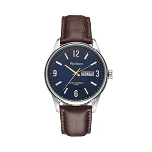 Armitron Men's Leather Watch - 20/5048NVSVBN
