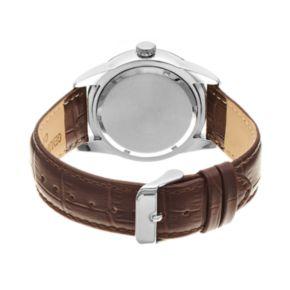 Armitron Men's Leather Watch - 20/5048NVSVBN