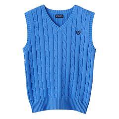 Boys 8-20 Chaps Cable-Knit Sweater Vest