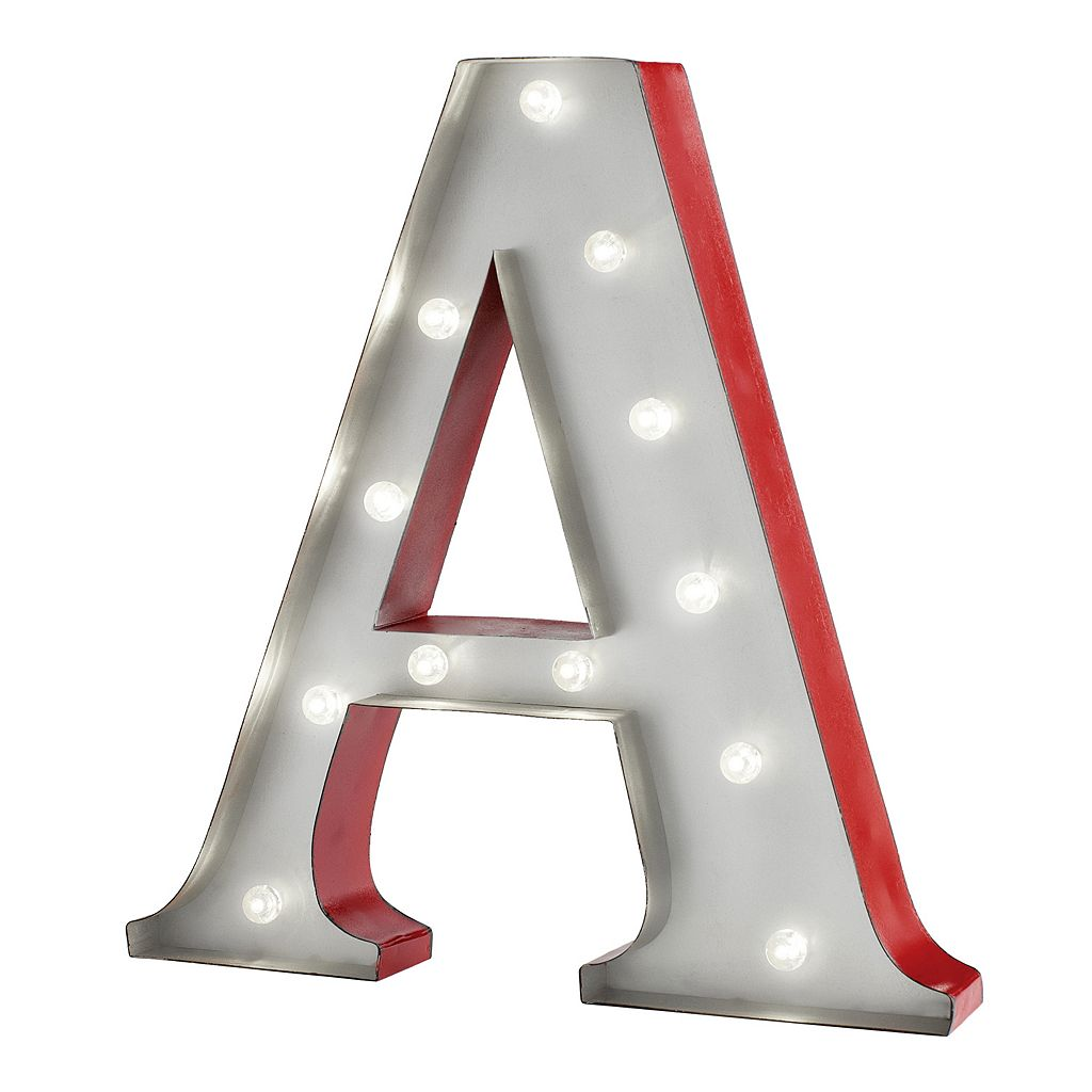 Apothecary LED Letter Marquee Wall Decor
