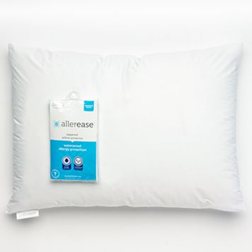 Allerease Waterproof Allergy Protection Pillow Protector - Standard / Queen