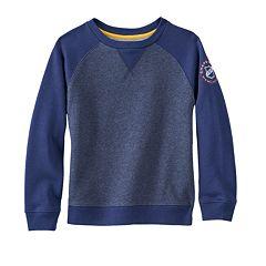 Toddler Boy Chaps Fleece Sweatshirt