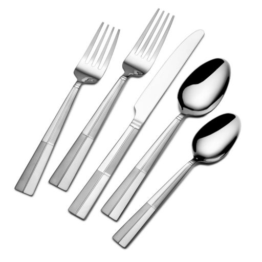 International Arabesque Frost 20-pc. Flatware Set