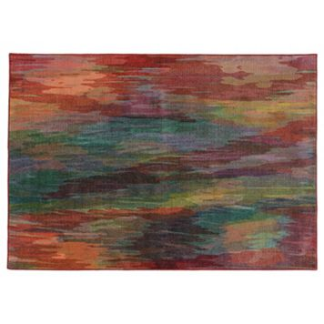 PANTONE UNIVERSE™ Prismatic Abstract Rug