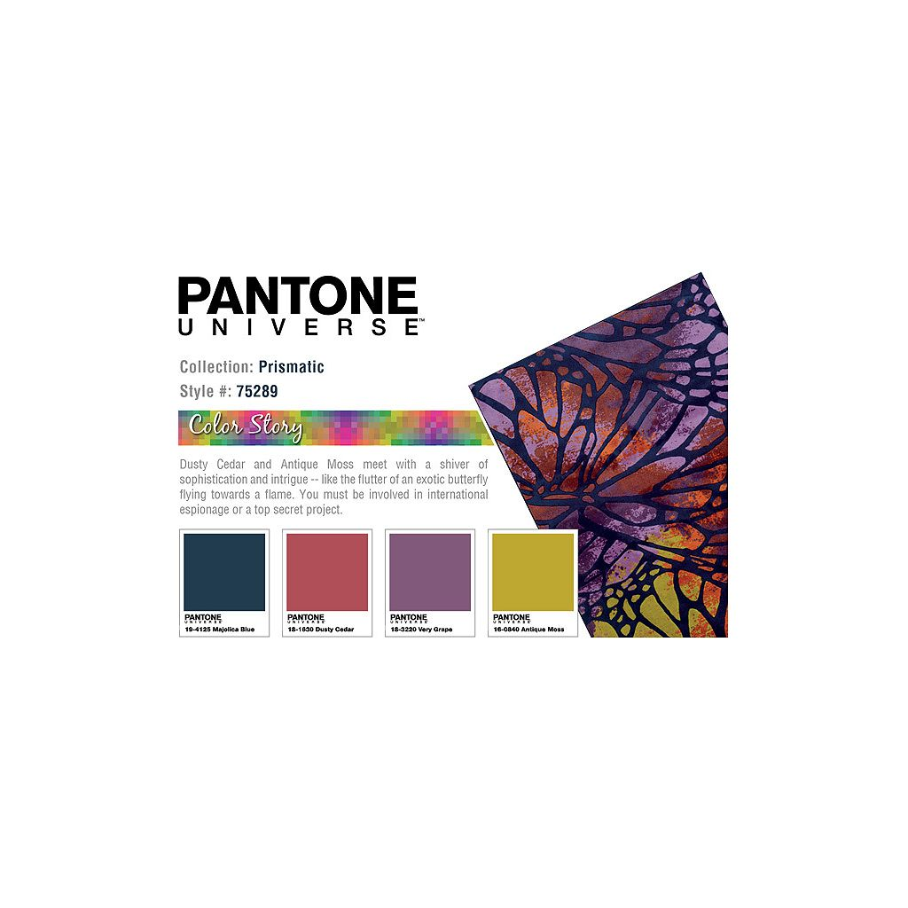 PANTONE UNIVERSE Prismatic Abstract Rug