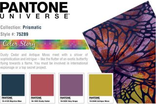 PANTONE UNIVERSE Prismatic Abstract Rug
