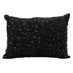 Mina Victory Luminescence Beaded Throw Pillow
