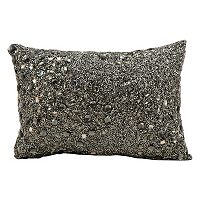 Mina Victory Luminescence Beaded Throw Pillow