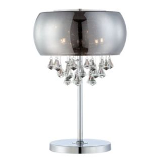 Crystal Mirrored Glass Table Lamp
