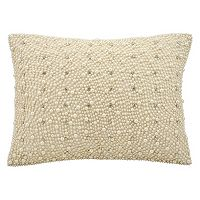 Kathy Ireland Simulated Pearl Throw Pillow