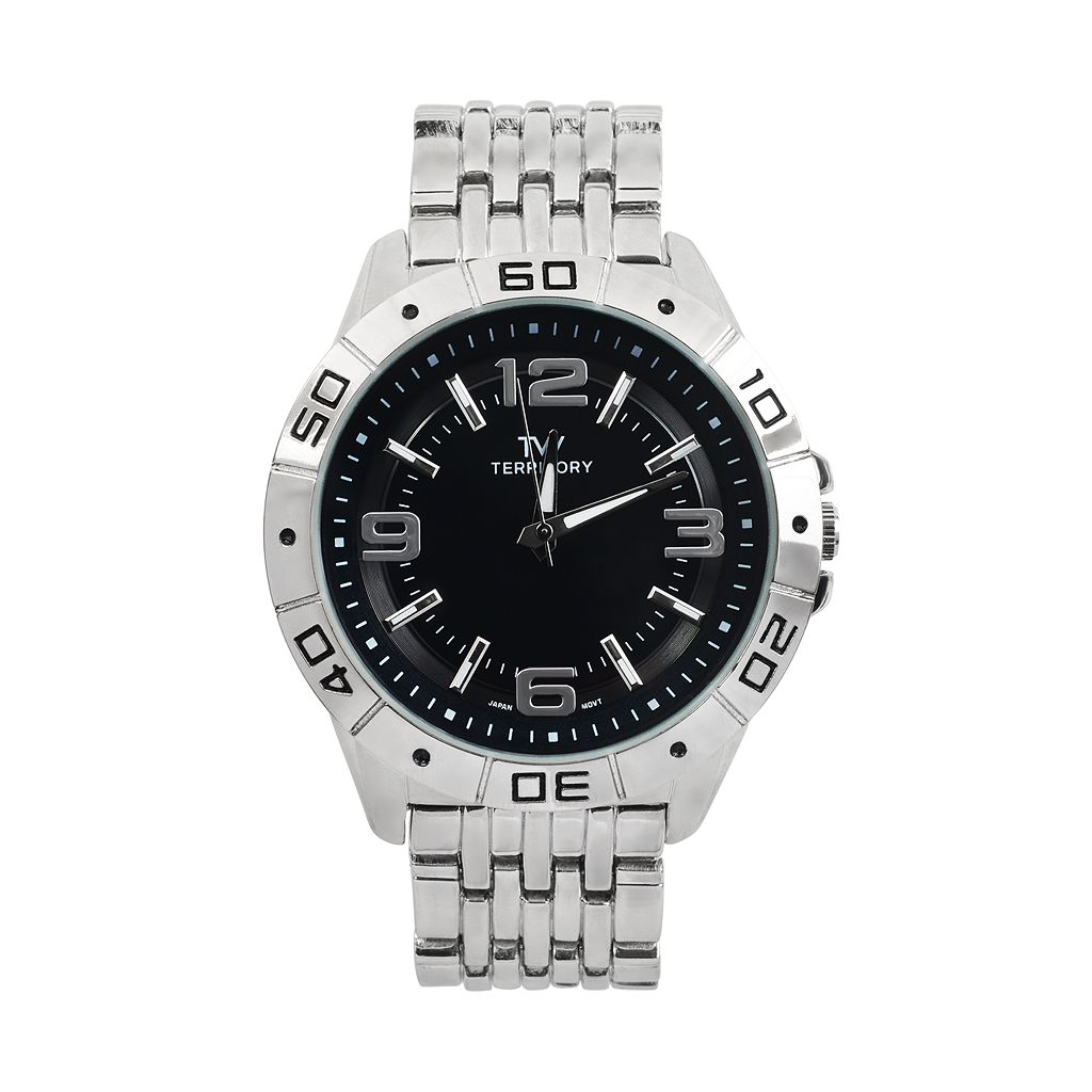 Territory Men's Stainless Steel Watch