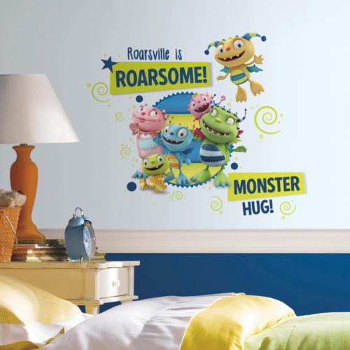 Henry Hugglemonster Family Giant Wall Decal