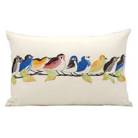 Mina Victory Bird Throw Pillow - Indoor / Outdoor
