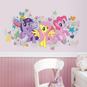 My Little Pony Wall Graphix Peel and Stick Giant Wall Decal Set