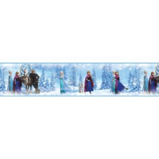 Disney's Frozen Peel and Stick Border Wall Decal