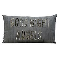 Kathy Ireland ''Good Night Angels'' Throw Pillow