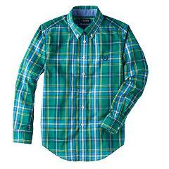 Boys 8-20 Chaps Gorham Plaid Button-Down Shirt