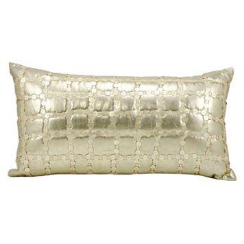 Mina Victory Luminescence Metallic Throw Pillow