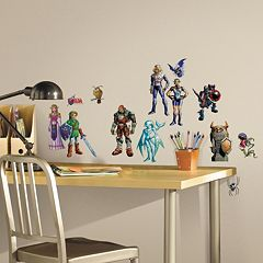 Zelda Ocarina of Time 3D Peel & Stick Wall Decal Set