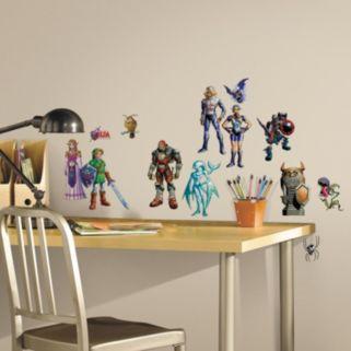 Zelda Ocarina of Time 3D Peel and Stick Wall Decal Set