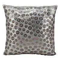 Kathy Ireland Circles Throw Pillow