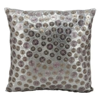 Kathy Ireland Circles Throw Pillow