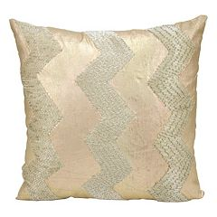 Mina Victory Luminescence Chevron Throw Pillow