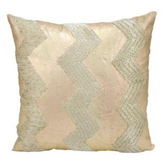 Mina Victory Luminescence Chevron Throw Pillow