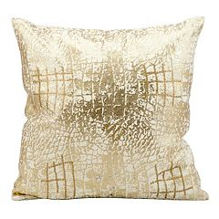 Kathy Ireland Crackle Throw Pillow