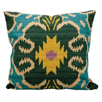 Kathy Ireland Geometric Throw Pillow