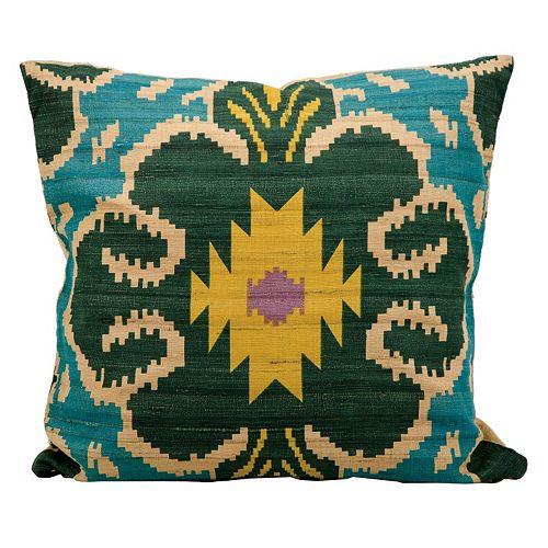 Kathy Ireland Geometric Throw Pillow