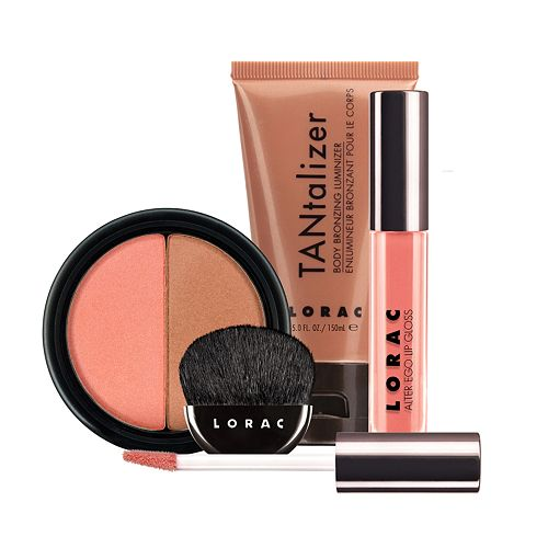 LORAC 3-pc. Hot & Spicy Makeup Collection Gift Set