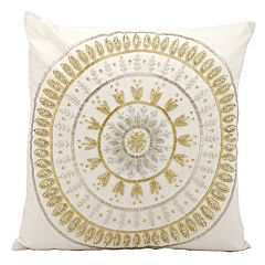 Michael Amini Throw Pillow