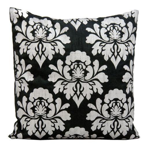 Michael Amini Floral Throw Pillow