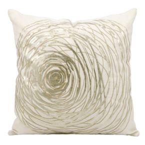 Kathy Ireland Abstract Circle Throw Pillow
