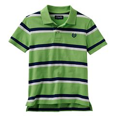 Boys 4-7 Chaps Pique Striped Polo