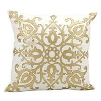 Mina Victory Luminescence Scroll Throw Pillow