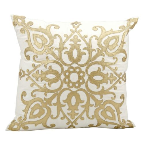 Mina Victory Luminescence Scroll Throw Pillow
