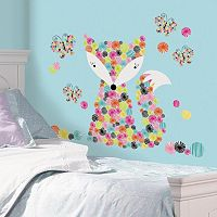 Prismatic Fox Peel & Stick Giant Wall Decal Set