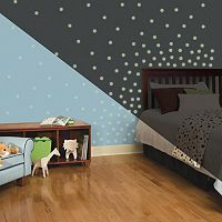 Glow In The Dark Dots Peel & Stick Wall Decal Set